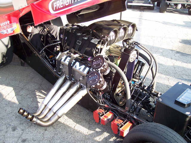 Funny Car Hemi Engine