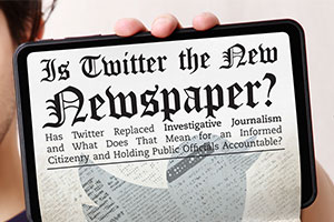 Is Twitter the New Newspaper?
