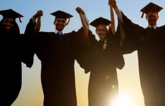 International Student Graduates Celebration
