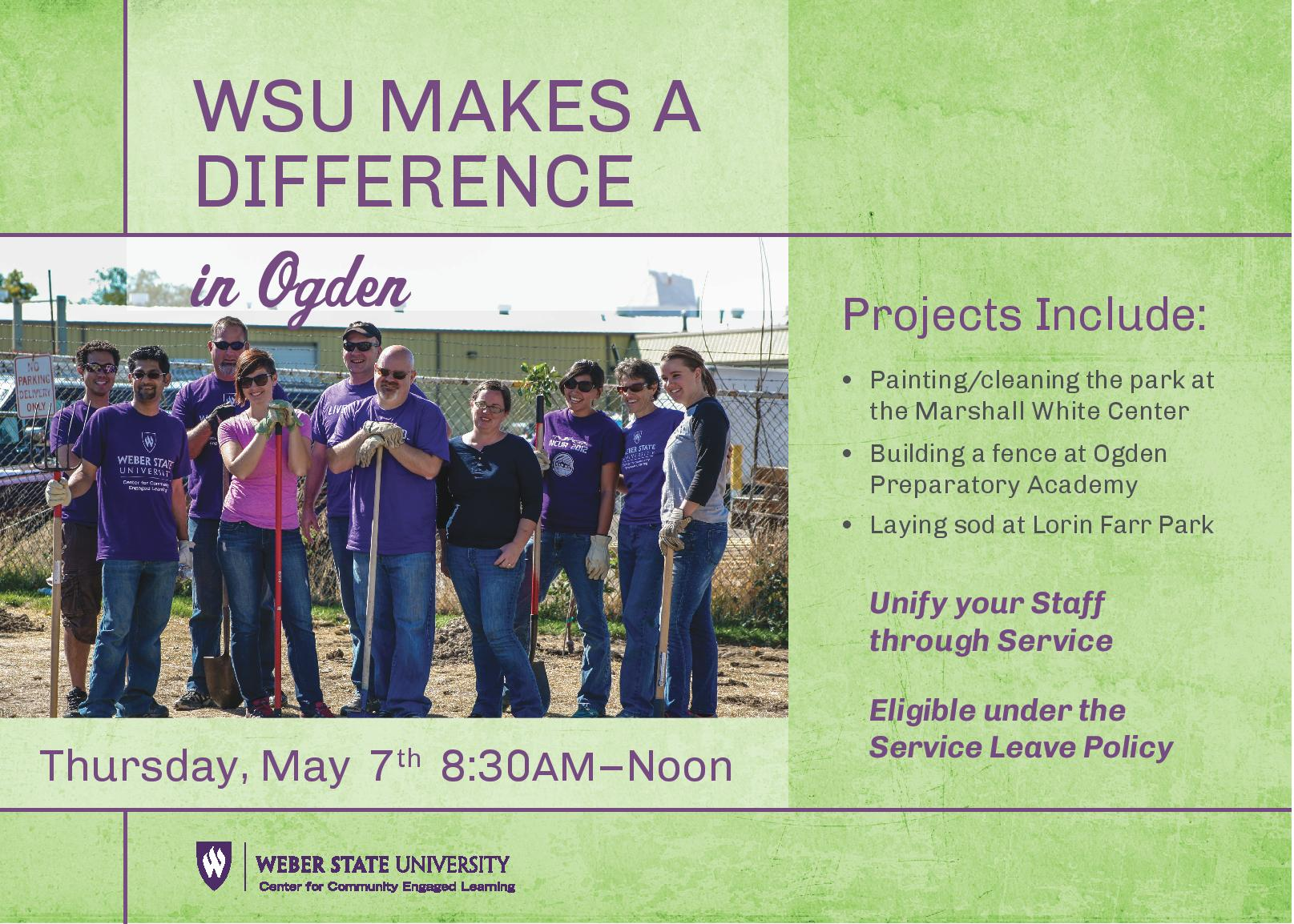 WSU Makes a Difference Day