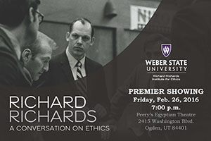 Richard Richards: A Conversation on Ethics