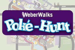 Weber Walks Poké-Hunt