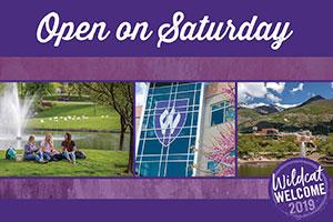 Open Saturday