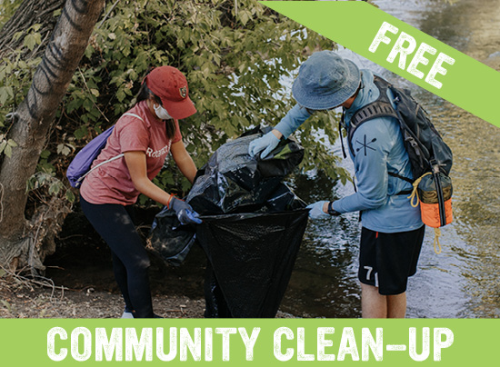 Community Clean-Up with the WSU Outdoor Program