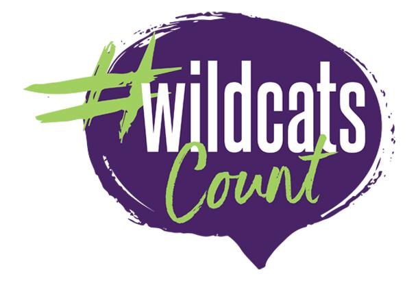 Wildcats Count Logo