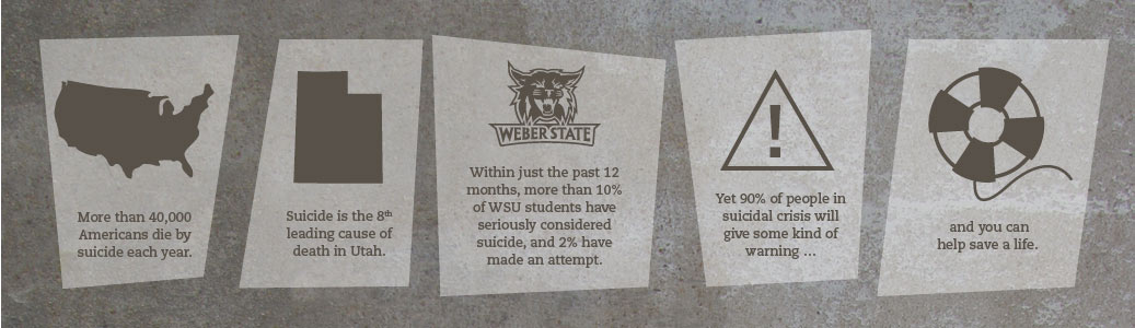 In the past 12 months, more than 10% of WSU students have seriously thought about suicide, and 2% have made an attempt.