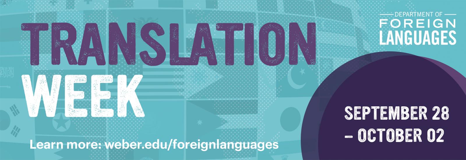 Translation Week Banner
