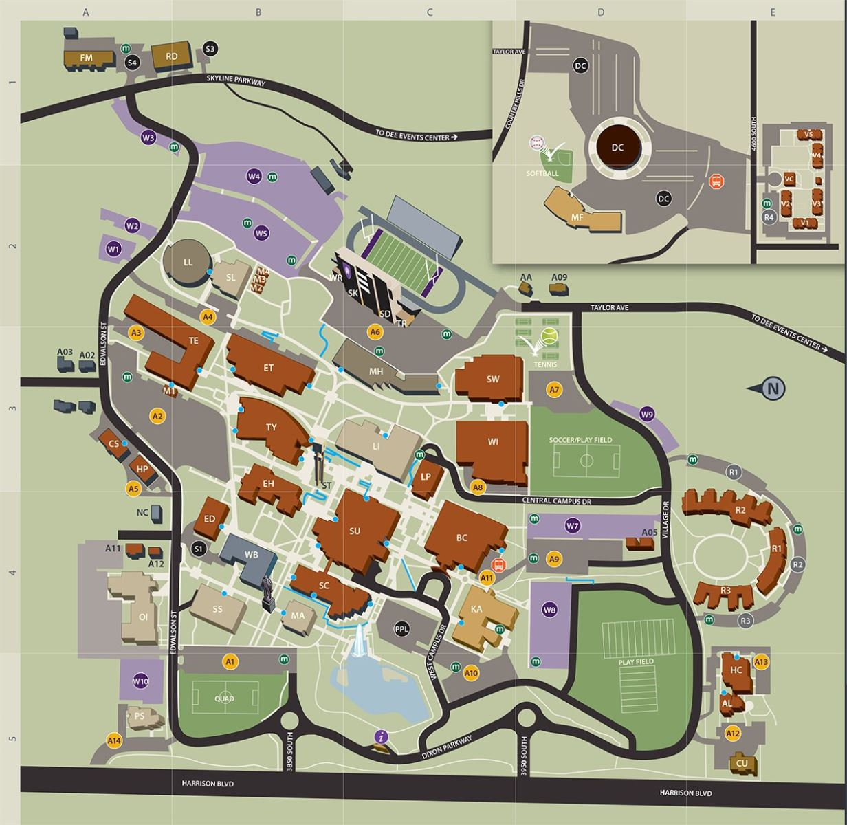 Sdsu Campus Map Pdf.Honors Scholarships Weber Honors College Sdsu Akross Info