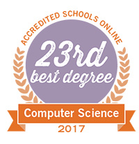 23rd best degree computer science in accredited schools online