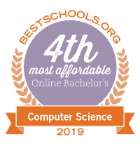 4th most affordable online bachelor's in 2019