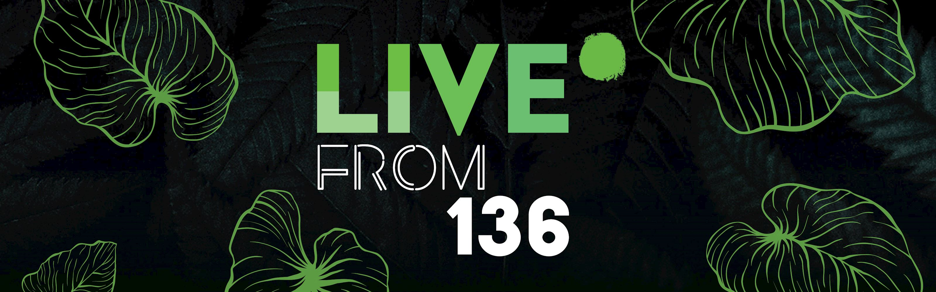 Live from 136 logo