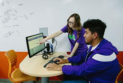 students tutoring