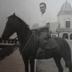 Man on a horse in Mexico