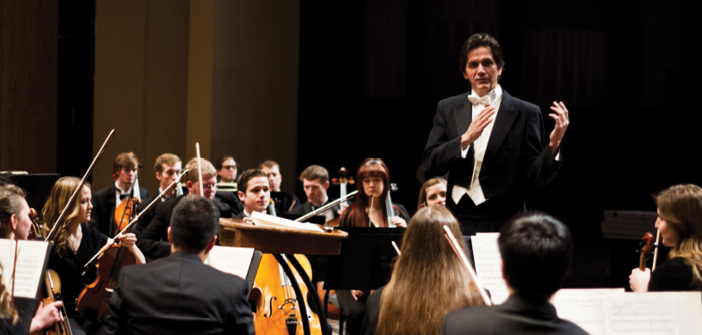 Weber State Symphony Orchestra performs