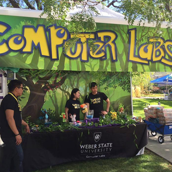 Computer Labs booth