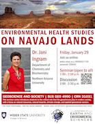 Ingram Flyer: Environmental Health Studies on Navajo Lands