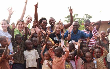 Students in Rwanda