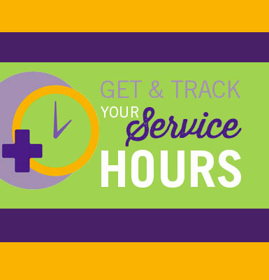 get and track service hours
