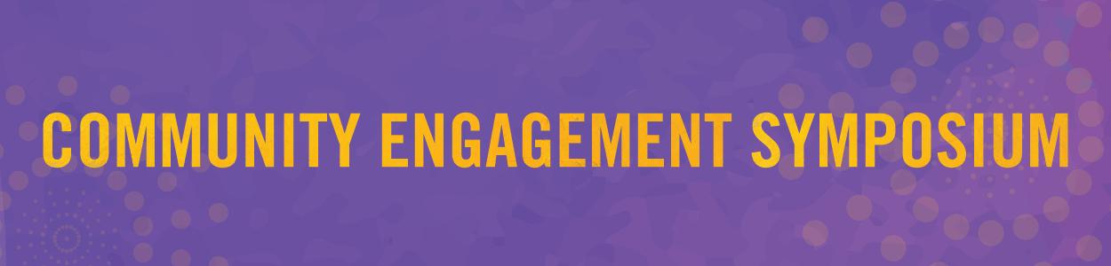community engagement symposium