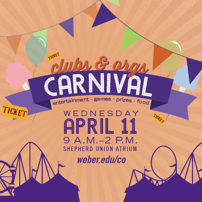 carnival April 11 9am to 2 pm Union
