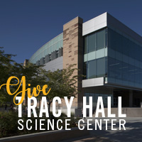 give to tracy hall science center