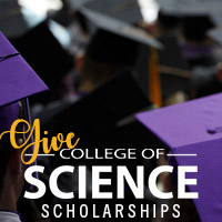 give to college of science scholarships