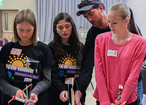 Parent-Daughter Engineering Day