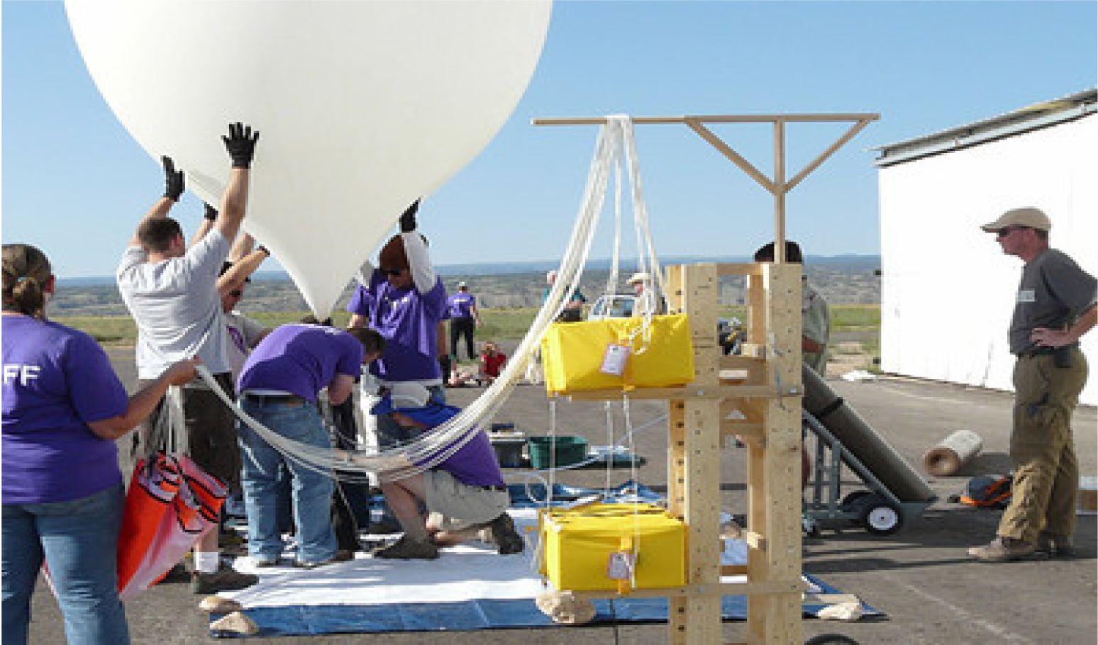 air pollution weather balloon