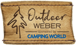 Outdoor Weber sponsored by Camping World