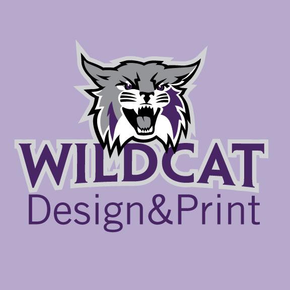 Wildcat Design&Print Logo