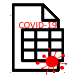 COVID Spreadsheet Icon