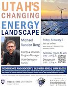 Michael Vanden Berg Utah's Changing Energy Landscape