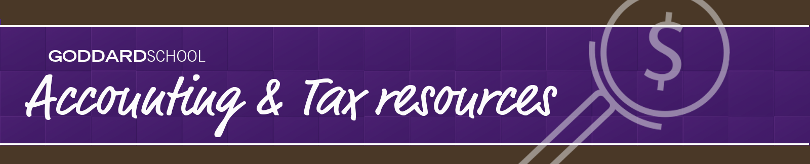 Accounting & tax resources