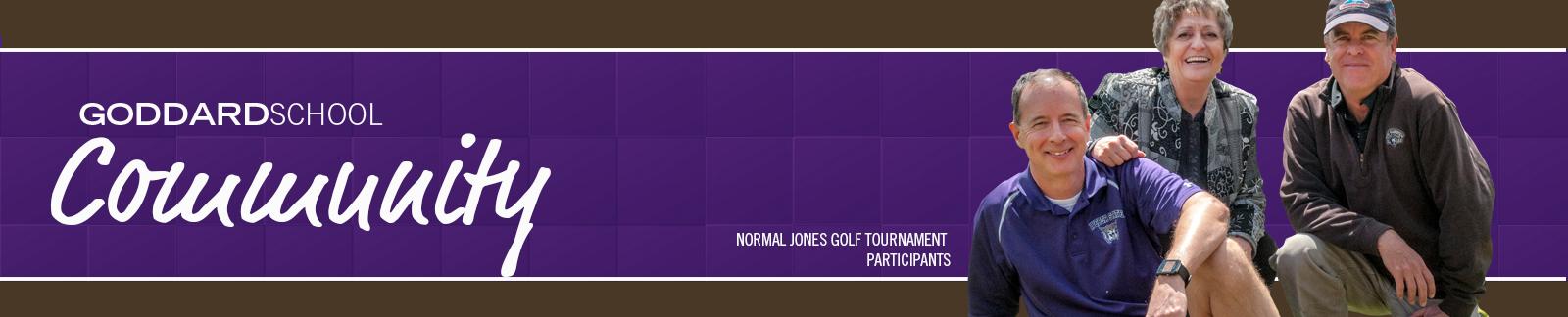 Community, Normal Jones Golf Tournament Participants