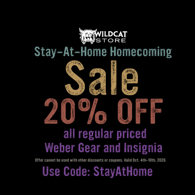 20% off purple apparel
