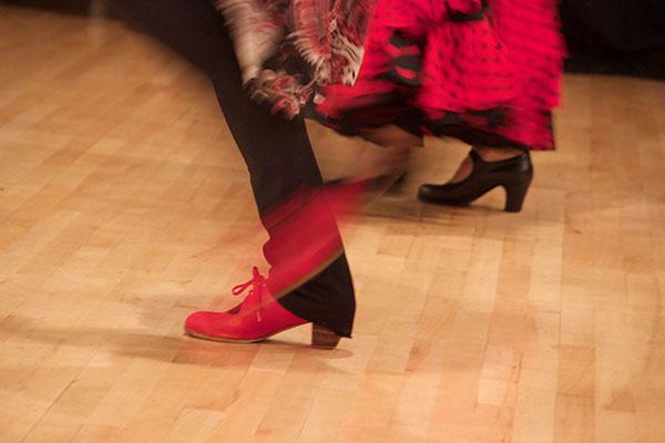 shoes dancing