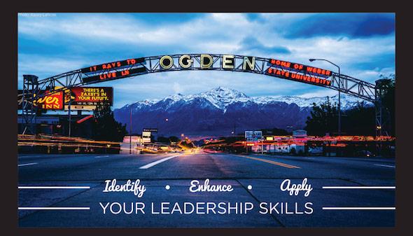 Identify, enhance, apply your leadership skills