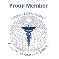 Proud member of the World Federation of Athletic Training and Therapy