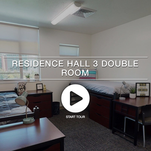 Residence Hall 3 Double Room