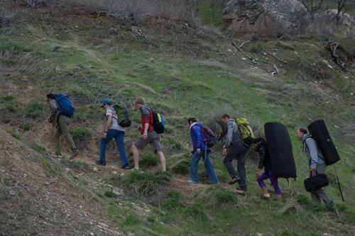 ocf9 outside climb hike