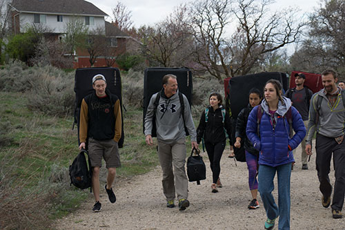 ocf9 ourside climb arrival