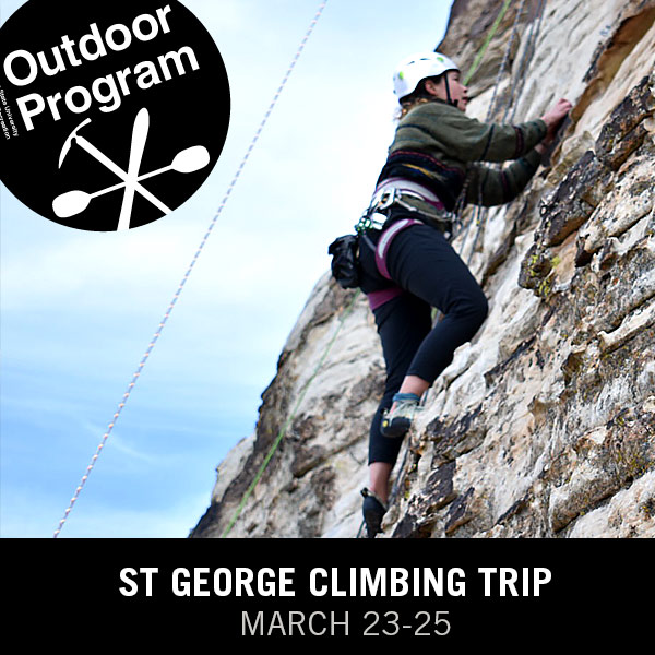 St George Climbing Trip March 23-25