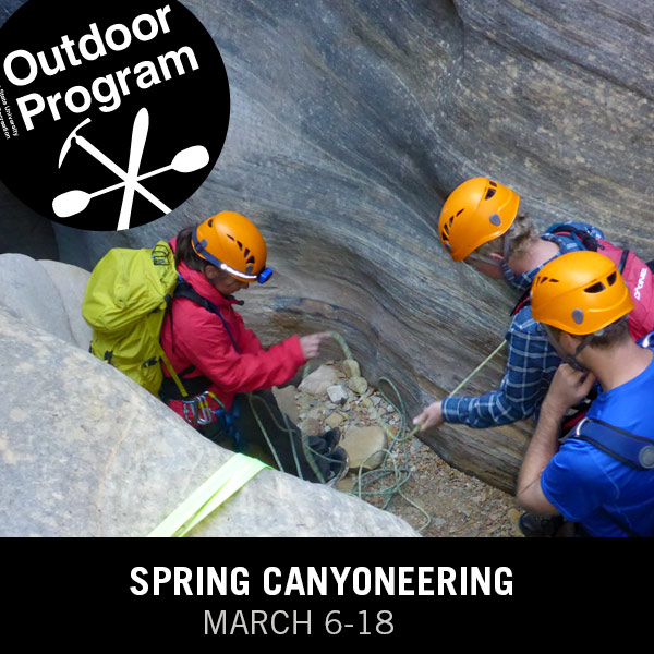 Spring Canyoneering March 16-18