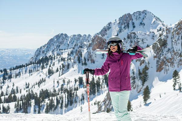 snowbasin skier