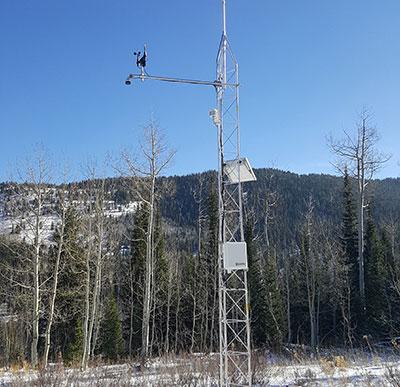 yurt weather station