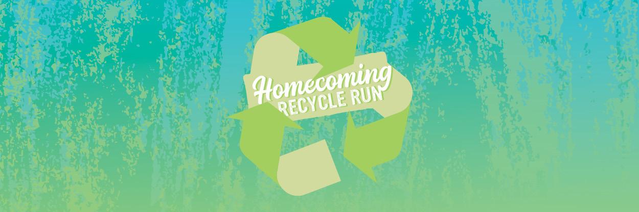 homecoming recycle run
