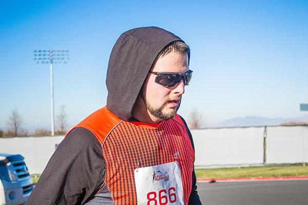 racer running
