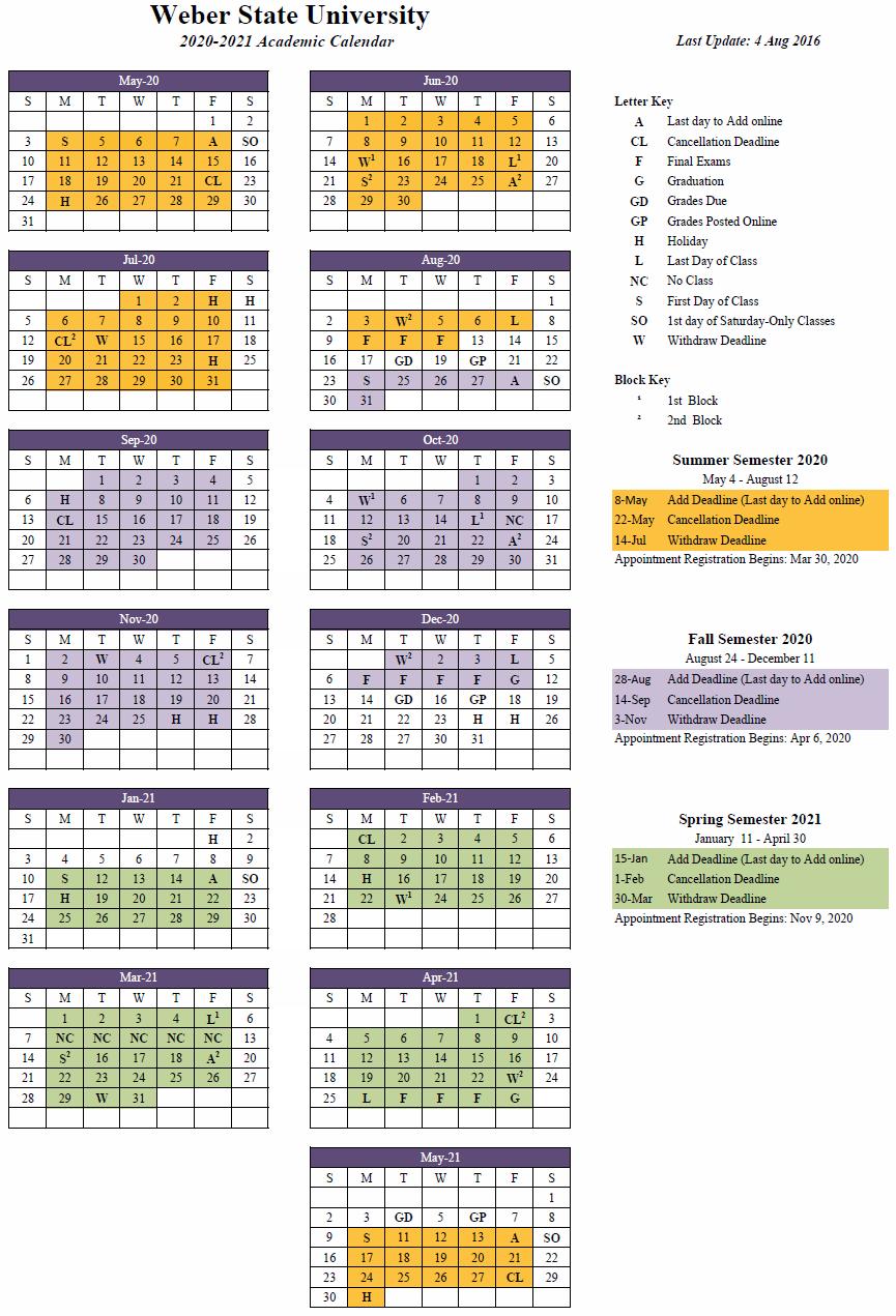 Usu Registration Calendar Fall 2021 2020 2021 Approved
