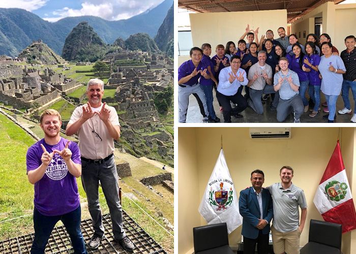 weber states sales students at Peru