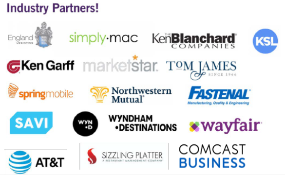 logos of industry partners